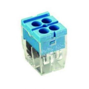 Push-in Wire Connectors - 4 way pk10
