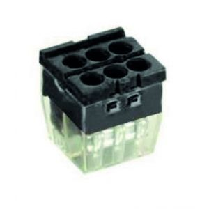 Push-in Wire Connectors - 6 way pk10