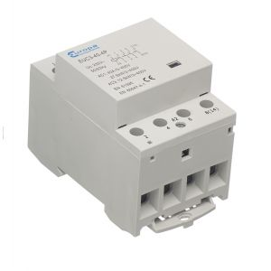 Modular Contactor For Metalclad Enclosures - 4 pole N/O 40A (230V AC coil)