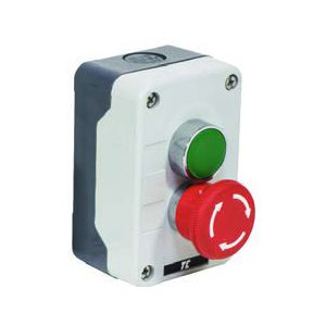 Plastic Push Button Stations - 2 position control station twist red / green