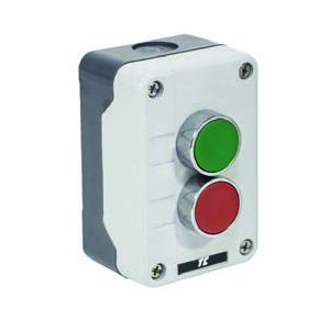 Plastic Push Button Stations - 2 position control station red / green