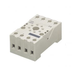 Octal 8 Pin Relays - Relay Base (Black socket terminal type)