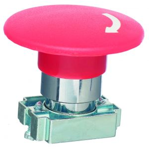 22mm Emergency Stop Switches - Em Stop 60mm dia twist to release