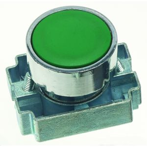 22mm Momentary Push Buttons Non-Illuminated - green