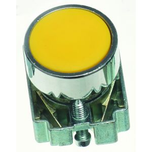 22mm Momentary Push Buttons Non-Illuminated - yellow