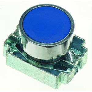 22mm Momentary Push Buttons Non-Illuminated - blue
