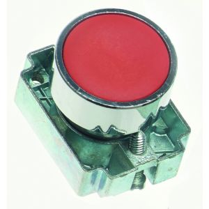 22mm Momentary Push Buttons Non-Illuminated - red