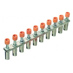 Jumper Bars - 10 Way Insulated Shorting Links - 10 way for 2.5mm_ terminal
