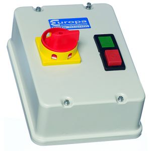 Direct on Line Motor Starters - Metal with Isolator - DOL + ISO IP54 5.5kW 230V coil steel enclosure