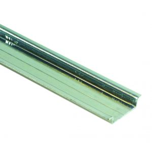 Top hat DIN rail solid 2m length