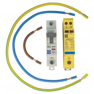 Economy Surge Protector Kit For Consumer Unit