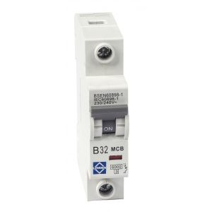 Economy 6kA Single Pole MCB - B Curve - 32A
