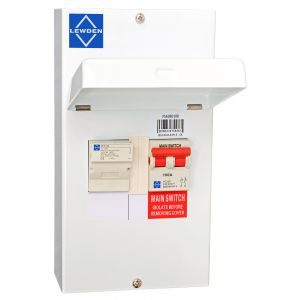 Economy Fused Switch - 100A c/w fuses