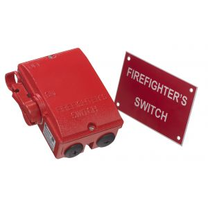 Firefighter's Switches - 40A (AC-22A) 3P+SW neutral