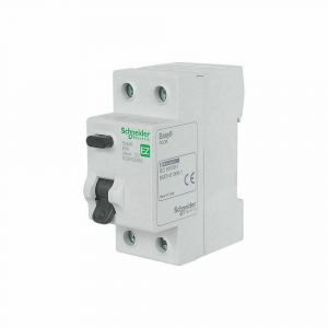 Residual Current Circuit Breakers - Double Pole - RCCB 2P 63A 30mA AC-type 230V