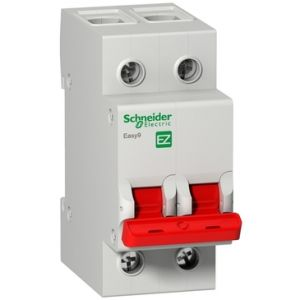 Residual Current Circuit Breakers - Double Pole - RCCB 2P 100A 30MA AC-type 230V