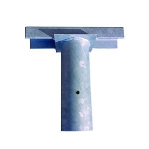 Single Floodlight Brackets - To suit 76mm post