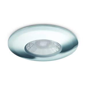 7W Fixed LED Downlights Fire Rated - 650 lumens - Chrome
