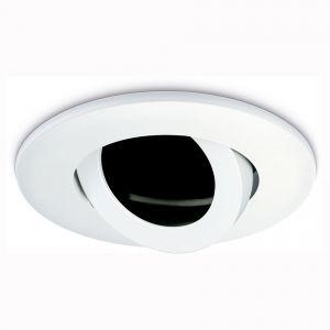 IP20 Tilt Downlight Bezel - White