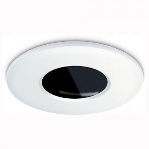 IP65 Fixed Downlight Bezel - White