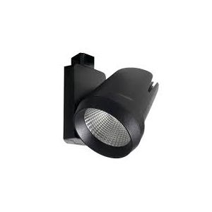 Mains LED IP20 Track Spot Lights - Dimmable - 25W 4000K black