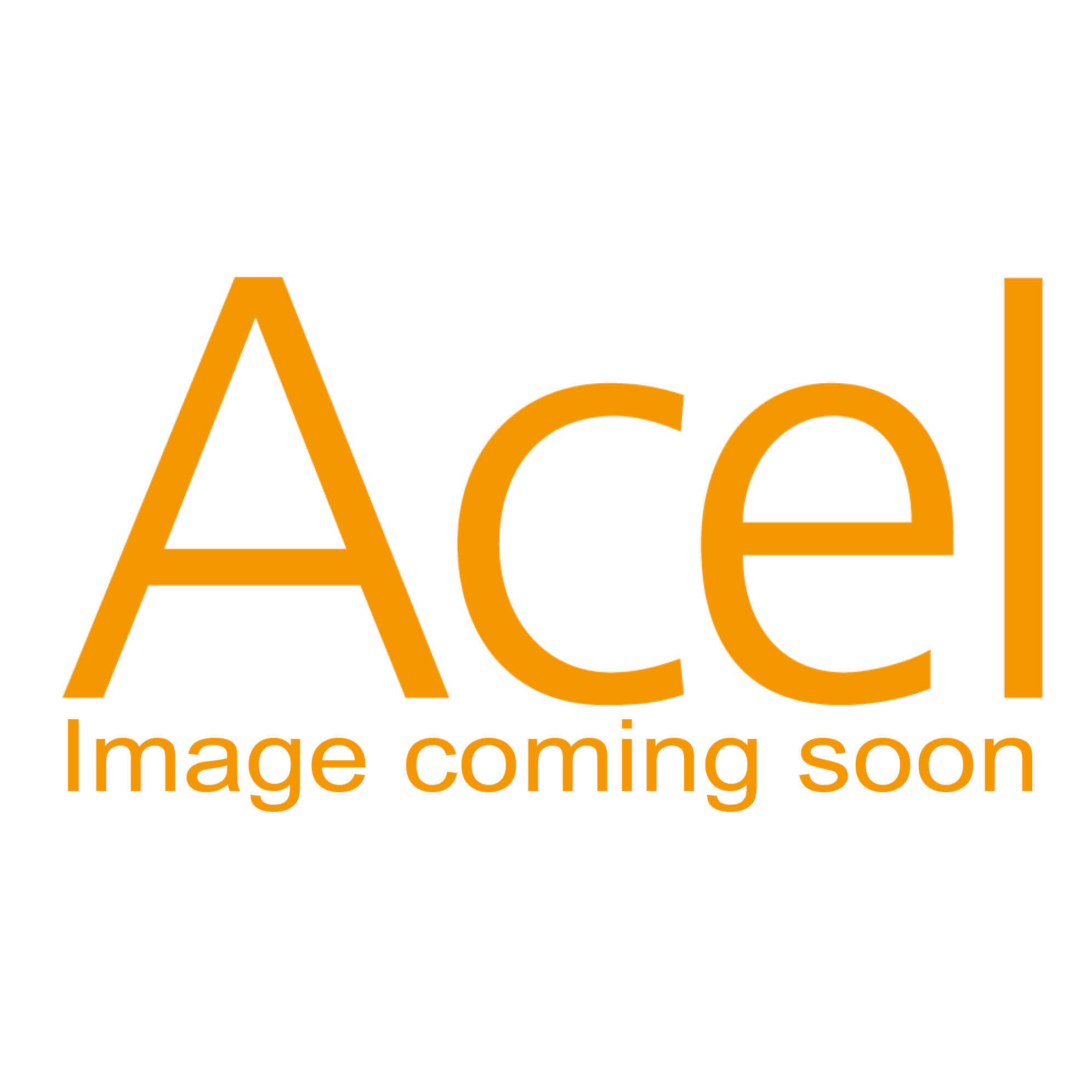 Single G9 bathroom wall light - chrome