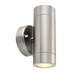 Stainless Steel Outdoor Wall Up/Down Wall Light GU10