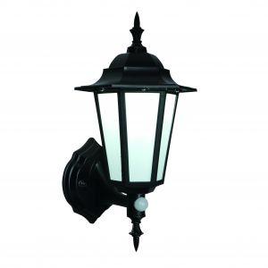 Black PIR Lantern 7W LED