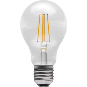 LED Filament GLS - Non-Dimmable - 4W ES/E27 2700K, 15,000 hrs, 470 lumens - clear GLS