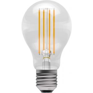 LED Filament GLS - Dimmable - 6W ES/E27 2700K, 15,000 hrs - GLS clear