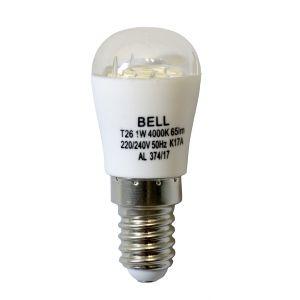 1W LED Appliance / Fridge Lamp - SES 4000K