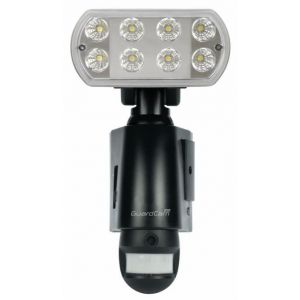 Combined Security LED Floodlight with built in camera PIR and voice alert