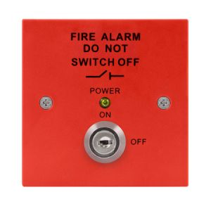 Fire Isolation Switch - red