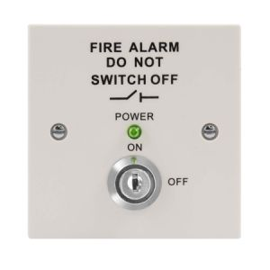 Fire Isolation Switch - white