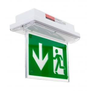 IP65 Emergency Bulkhead - Double Sided conversion blade to fit AC5676