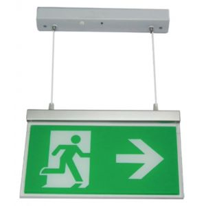 Suspended Exit Signs c/w ISO legend pack