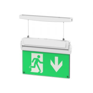 5 in 1 Emergency Exit Sign with full Legend