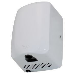 Low Noise Fast Dry Compact Hand Dryers - White