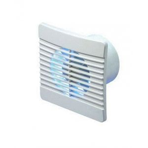 100mm Low Profile Axial Fan with Humidistat