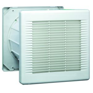 230mm fan with automatic shutters