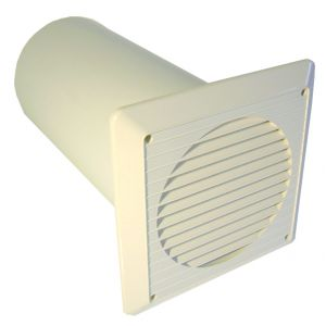 100mm wall vent kit