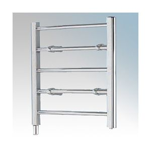 Ladder Towel Rails - 60W five rail - chrome