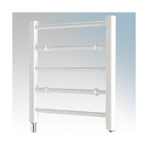 Ladder Towel Rails - 100W five rail - white
