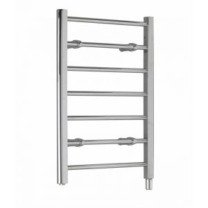 Ladder Towel Rails - 80W seven rail - chrome