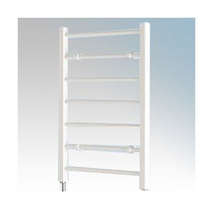 Ladder Towel Rails - 120W seven rail - white