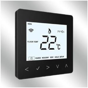 Wireless Thermostat - 16A Black