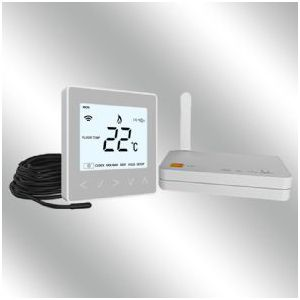 Wireless Thermostat and Hub - 16A Silver
