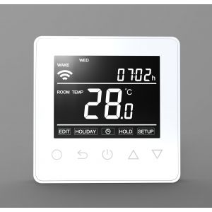 Wi-Fi Touch Button Thermostat - 16A