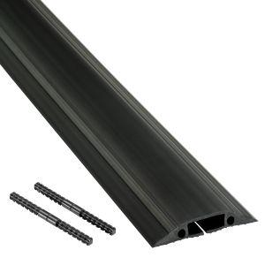 Floor Cable Protector Medium Duty - 9Mtr Black