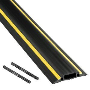 Floor Cable Protector Medium Duty - 1.8Mtr Black & Yellow